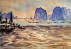 thủy chiều xuống - Hạ Long - Quảng Ninh